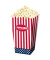 Popcorn bakjes usa 4 stuks