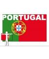 Portugal supporter cape