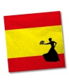 Spanje servetten 20 stuks