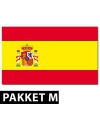 Spanje versiering pakket medium