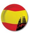 Spanje wegwerp bordjes 10 stuks