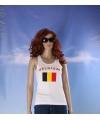 Witte dames tanktop belgie