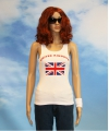 Witte dames tanktop united kingdom