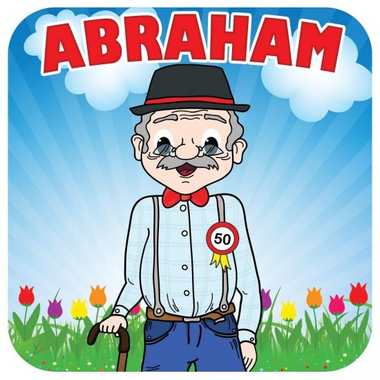 Beroemd Bierviltjes Abraham 50 jaar | De vlaggen winkel, altijd de  CN-81