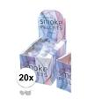 20 witte rook pluim tabletten