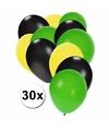 Jamaicaanse feest ballonnen 30 st