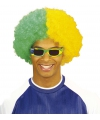 Pruik in kleuren van Brazilie