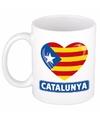 Hartje catalonie mok beker 300 ml