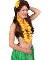 Hawaii kit oranje voor dames