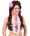 Hawaii kit paars voor dames