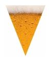 Oktoberfest bier print vlaggenlijn slinger 6 meter