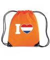 Oranje i love holland rugzak
